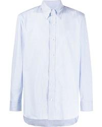 Camisa de vestir celeste de Salvatore Piccolo