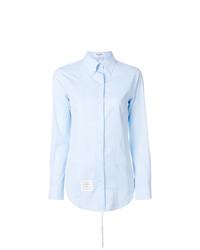 Camisa de vestir celeste de Thom Browne