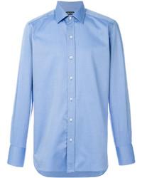 Camisa de vestir celeste de Tom Ford