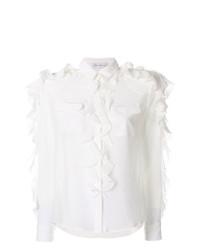 Camisa de vestir con volante blanca de Faith Connexion