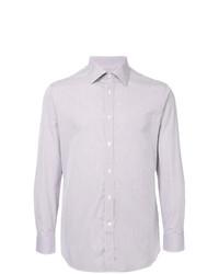 3116d1392d Camisa de vestir de rayas verticales en blanco y rojo y azul marino de  Gieves