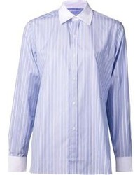 Camisa de vestir de rayas verticales original 1282464