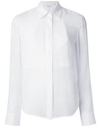 Camisa de vestir de seda blanca de Alexander Wang