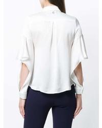 Camisa de vestir de seda blanca de L'Autre Chose