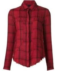 Camisa de vestir de tartán
