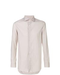 Camisa de vestir en beige de Boglioli