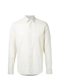 Camisa de vestir en beige de Cerruti 1881