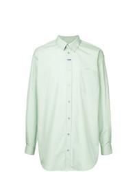 Camisa de vestir en verde menta de Martine Rose