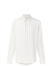 Camisa de vestir estampada blanca de AMI Alexandre Mattiussi