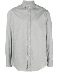 Camisa de vestir gris de Brunello Cucinelli