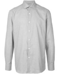 Camisa de vestir gris de Ermenegildo Zegna