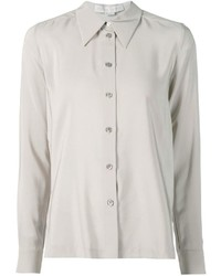 Camisa de Vestir Gris de Stella McCartney