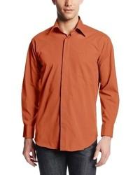 Camisa de Vestir Naranja de Stacy Adams