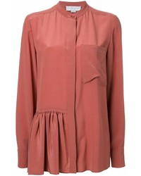 Camisa de Vestir Naranja de Stella McCartney