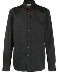 Camisa de vestir negra de Alexander McQueen