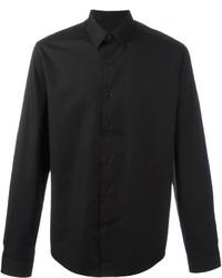 Camisa de vestir negra de AMI Alexandre Mattiussi