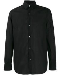 Camisa de vestir negra de Ann Demeulemeester