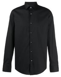Camisa de vestir negra de BOSS HUGO BOSS