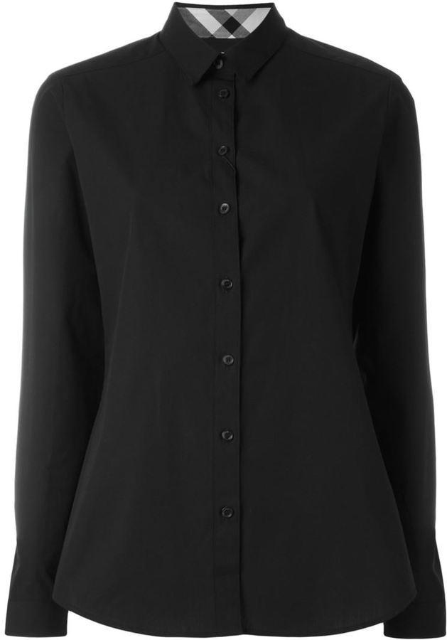 1d995aeb Camisa de vestir negra de Burberry