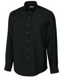 Camisa de Vestir Negra de Cutter & Buck