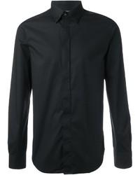 Camisa de Vestir Negra de Diesel