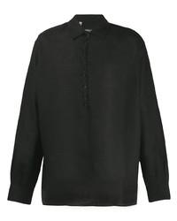 Camisa de vestir negra de Dolce & Gabbana