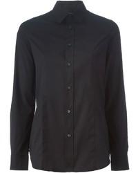 Camisa de vestir negra de Dsquared2