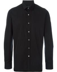 Camisa de vestir negra de Lanvin