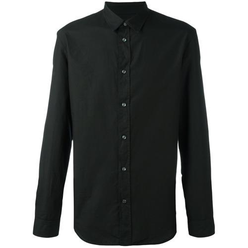... Camisa de vestir negra de Maison Margiela ... 854b571484ded