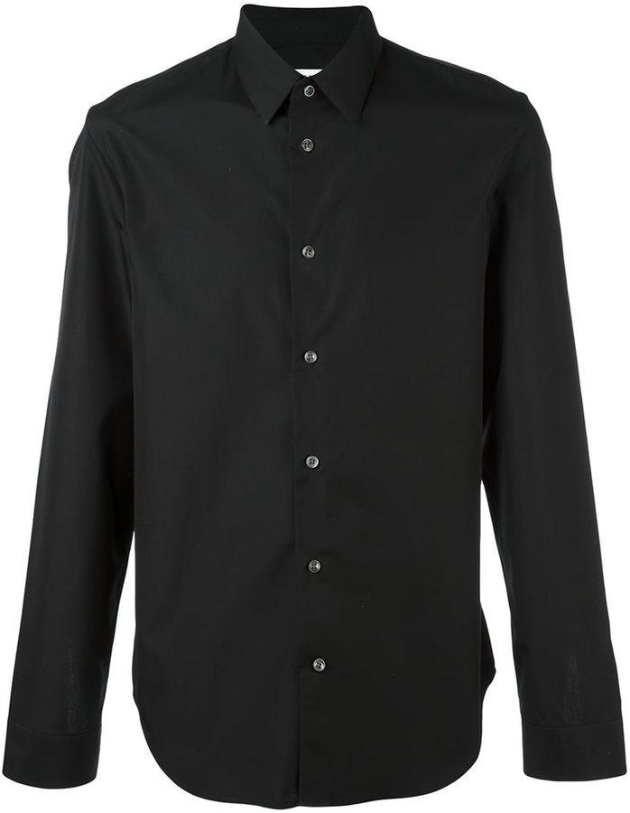 ... Camisa de vestir negra de Maison Margiela e5a0beb226bd8