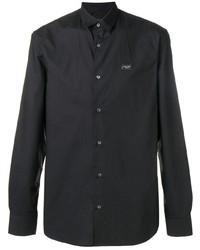Camisa de vestir negra de Philipp Plein