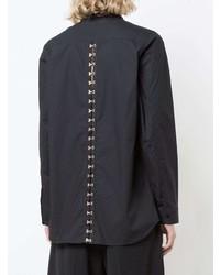 Camisa de vestir negra de Proenza Schouler
