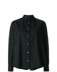 Camisa de vestir negra de Sacai