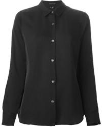 Camisa de vestir negra de Theory