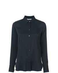 Camisa de vestir negra de Vince