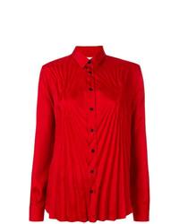 Camisa de vestir roja de Maison Margiela