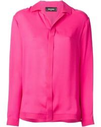 Camisa de vestir rosa de Dsquared2