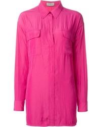 Camisa de vestir rosa de Lanvin