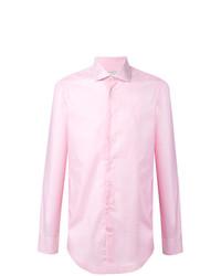 Camisa de vestir rosada de Etro