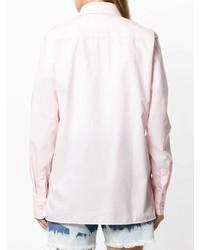 Camisa de vestir rosada de Faith Connexion