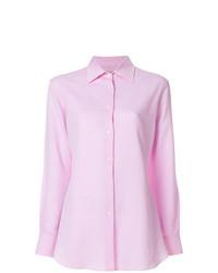 Camisa de vestir rosada de Holland & Holland