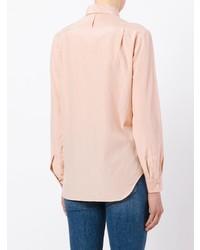 Camisa de vestir rosada de Margaret Howell