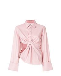 Camisa de vestir rosada de MARQUES ALMEIDA