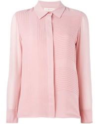Camisa de vestir rosada de Tory Burch