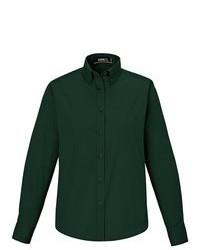 Camisa de vestir verde oscuro original 4756162