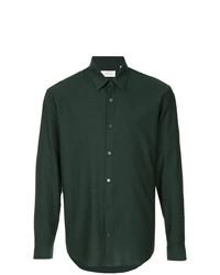 Camisa de vestir verde oscuro de Cerruti 1881