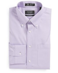 Camisa de vestir violeta claro
