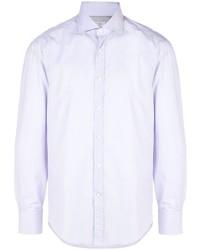 Camisa de vestir violeta claro de Brunello Cucinelli
