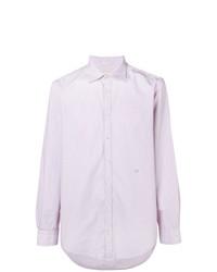 Camisa de vestir violeta claro de Massimo Alba