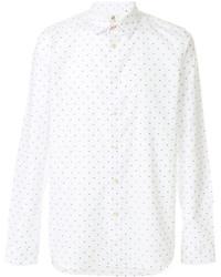 Camisa Estampada Blanca de Paul Smith